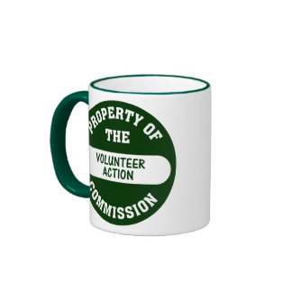 Property of the Volunteer Action Commission Mug