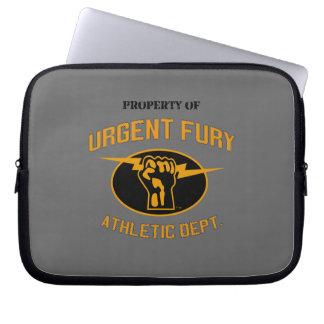 Property of Urgent Fury Electronics Sleve Laptop Sleeve