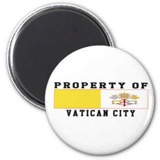 Property Of Vatican City Magnet