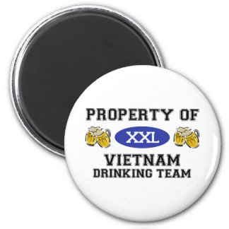 Property of Vietnam Drinking Team Magnet