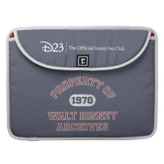 Property of Walt Disney Archives MacBook Pro Sleeves