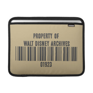 Property of Walt Disney Archives Sleeve For MacBook Air