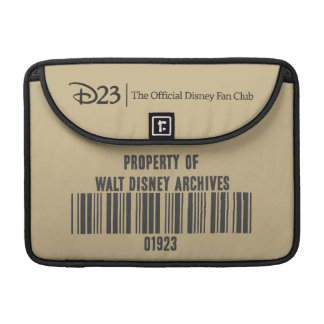 Property of Walt Disney Archives Sleeve For MacBook Pro