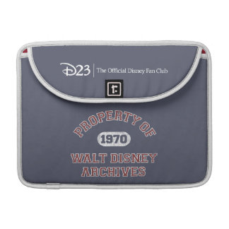 Property of Walt Disney Archives Sleeve For MacBooks