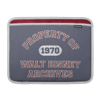 Property of Walt Disney Archives Sleeves For MacBook Air