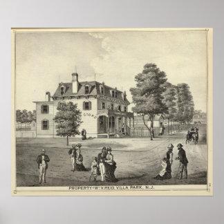 Property of Wm V Reid, Villa Park, NJ Poster