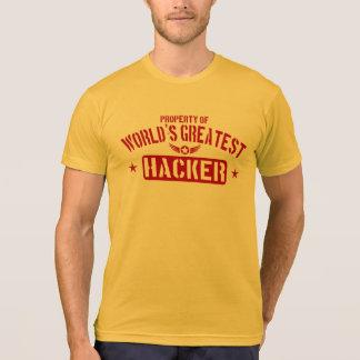 Property Of World's Greatest Hacker T-Shirt