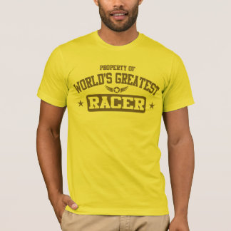 Property Of World's Greatest Racer T-Shirt