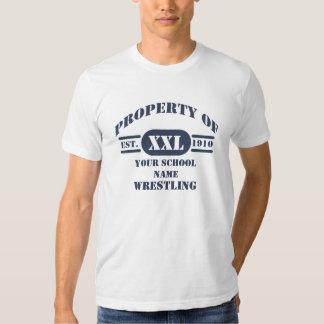Property of Wrestling T-Shirt
