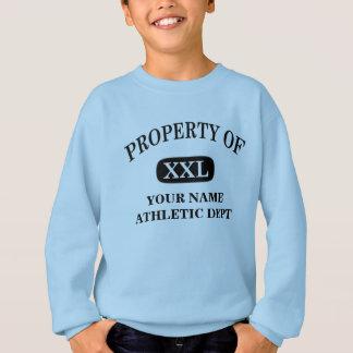 Property of XXL Your Name Sweatshirt