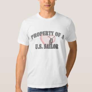 property sailor heart tshirt