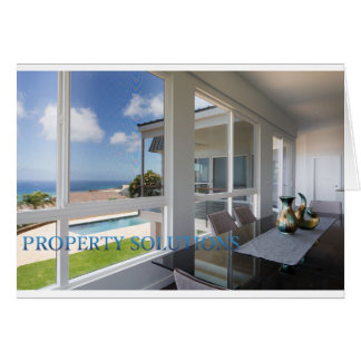 Property Solutions Blank Greeting Card