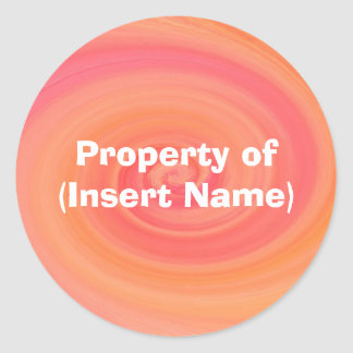 Property Sticker - Customized