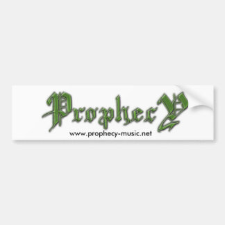 ProphecY Bumper Sticker