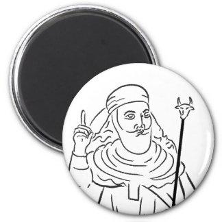 Prophet Zoroaster Magnet