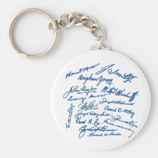 Prophets Autographs Keychain