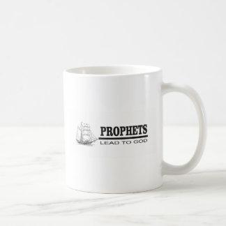 prophets lead to god coffee mug