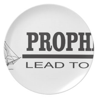 prophets lead to god party plate