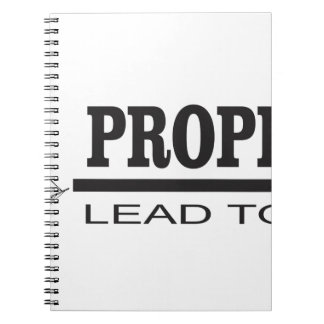 prophets lead to god spiral note book