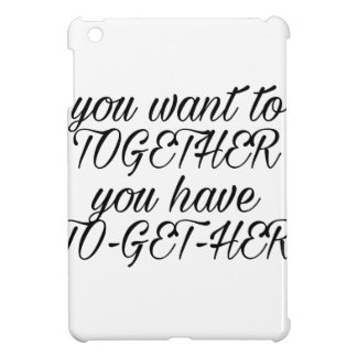 Proposal quote case for the iPad mini