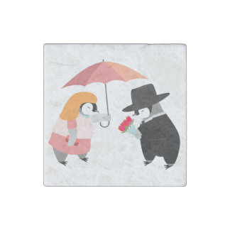 Propose Penguin Stone Magnets