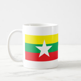 Proposed Myanmar Flag 2007 Classic White Coffee Mug