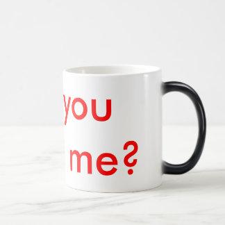 Proposition de mariage cachée mug magique