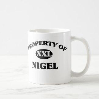 Propriété de NIGEL Tasse