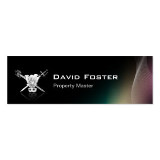 Props Property Master Manager Assistant Business Cards
