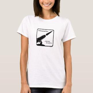ProPyro 3 Tranparent/torche de noir T-shirt