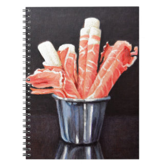 Prosciutto Wraps Spiral Notebook