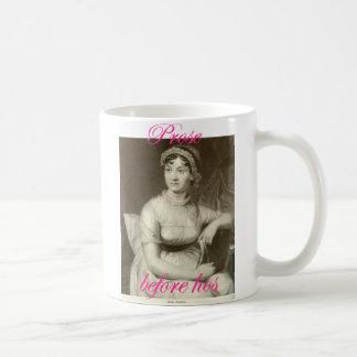Prose before hos featuring Jane Austen Coffee Mug