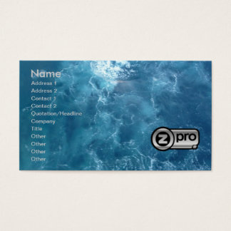 ProSeller Silver 2 Fine Art Business Card 3D