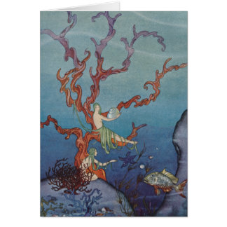 Proserpina and the Sea Nymphs Greeting Card