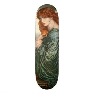Proserpine by Dante Gabriel Rossetti Custom Skate Board