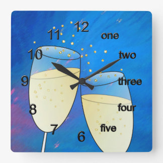 Prosit Square Wall Clock