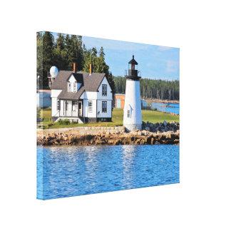 Prospect Harbor Lighthouse, Maine Canvas Print