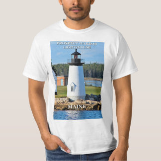 Prospect Harbor Lighthouse, Maine T-Shirt