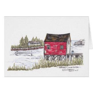 Prospect, Nova Scotia sketch Card