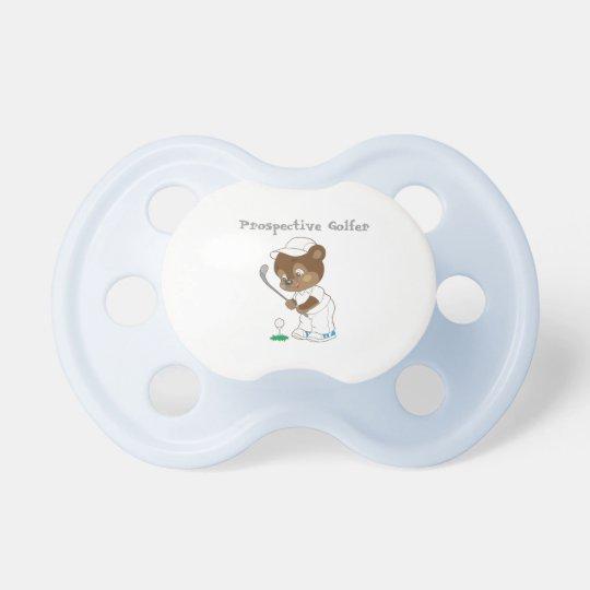 Prospective Golfer Baby Pacifier