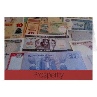 Prosperity card