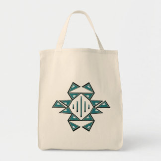 Prosperity Cotton Grocery Tote Bag