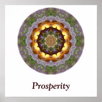 Prosperity Mandala Poster