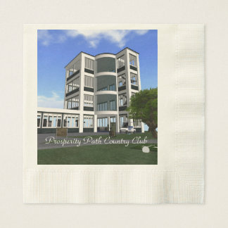 Prosperity Path Country Club Paper Napkins