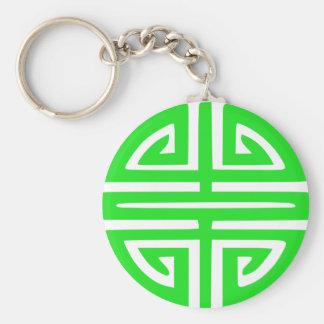 Prosperity symbol keychain