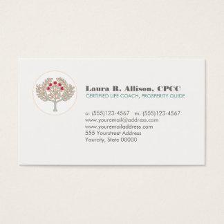 Prosperity Tree Wellness and Healing Arts Business Card