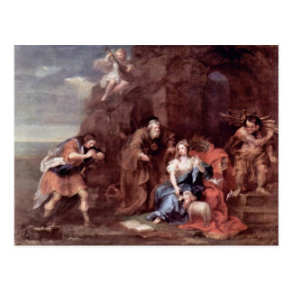 "Prospero And Miranda"" By Hogarth William Postcard"