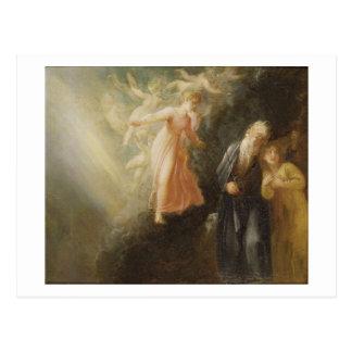 Prospero, Miranda and Ariel, from 'The Tempest', c Postcard