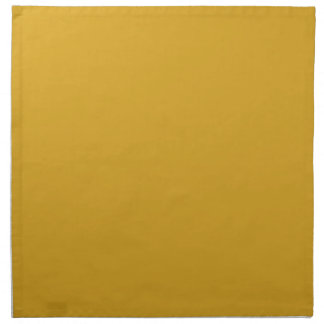 Prosperously Golden Gold Color Napkin