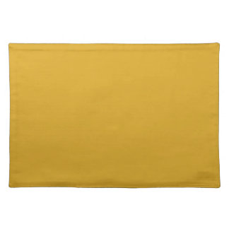 Prosperously Golden Gold Color Placemat